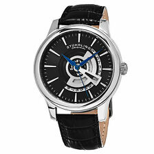 Stuhrling Original Men's 787.02 Symphony Quartz  Leather   Watch