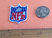 NFL SHIELD  Sew on  PATCH   FREE SHIPPING.    NEW OLD STOCK    CLOSEOUT
