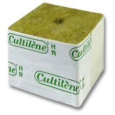 10x Tacos / Bloques Propagación Lana de Roca Cultilène HR 8/25 (50x50x50mm)