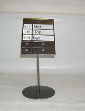 Shop/Clothing Retail Price Stand (S1)