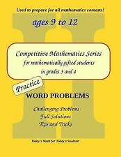 Practice Word Problems: Level 2 (ages 9 to 11) (Competitive Mathematics for Gift