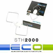 Avtex STH2000 12-24 Volt Digital TV Aerial Antenna for Caravans and Motorhomes