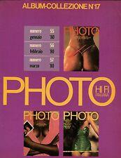 PHOTO ALBUM COLLEZIONE 17 1980 FUHRER MAISEL INDIOS HENRI BRESSON BEARD DAVIDSON