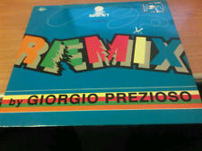 LP REMIX BY GIORGIO PREZIOSO TLP 130 EX+/EX DIG IT 1992 P ITALY BLUE COVER BSS