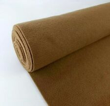 """5 Yards Brown Upholstery Durable Un-Backed Automotive Trim Carpet 40""""x15 Ft Roll"""