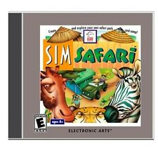 SimSafari Sim Safari PC New