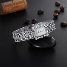 Bracelet Rectangle Crystal Wrist Watch Women Girl Gift Watches