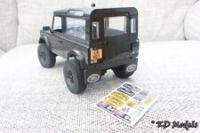 Custom Decal Stickers for New Gelande D90 1/18 scale RC4WD Land Rover Crawler