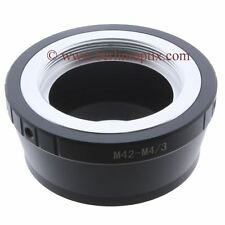 Adapter M42 Objektiv lens to an micro 4/3 m4/3 MFT Olympus Panasonic Pen Lumix G