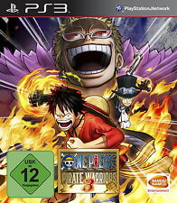 Play Station 3 juego ps3 One Piece Pirate Warriors 3 con instrucciones