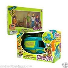 NUOVO SCOOBY DOO goobusters Mystery Machine & 5 Pack risolvere FIGURE PLAYSET 3 +