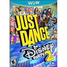 Wii U - JUST DANCE DISNEY PARTY 2 - Brand New Factory Sealed FREE SHIPPING
