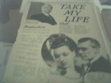 newspaper article 1947 - black narcissus production 2 page
