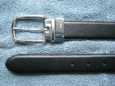 $75. POLO-RALPH LAUREN Reversible Black/ Brown Leather Belt (36)  (eur 90)