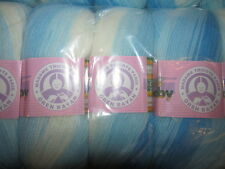 KNITTING WOOL & YARN  5 x 100g  MADAME  TRICOTE SWEET  BABY DK - BATIK 304