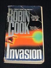 wmf* SALE : ROBIN COOK ~ INVASION