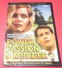 Power, Passion & Murder  NEW!  DVD [Slim Case] Beautiful MICHELLE PFIEFFER