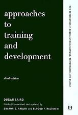 APPROACHES TO TRAINING AND DEVELOPMENT - NEW PRE-LOADED AUDIO PLAYER BOOK