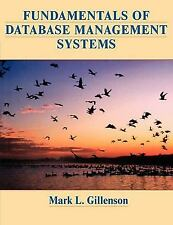 Fundamentals of Database Management Systems, Gillenson, Mark L., Acceptable Book