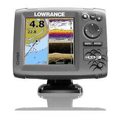 Lowrance Hook-5 DSI CHIRP Marine GPS Fishfinder/Chartplotter w/ Transducer