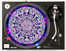 DJ INDUSTRIES RAVE MANDELA - DJ SLIPMATS (1 PAIR) 1200's or any turntable