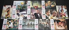 1971 James Bond 007 Diamonds Are Forever Lobby Cards 12pc Roger Moore (Spanish)