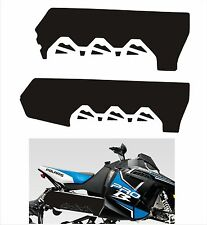 POLARIS RUSH PRO INDY RMK 600 800 PRO R 120 136 SHORT TUNNEL DECAL STICKER BLACK