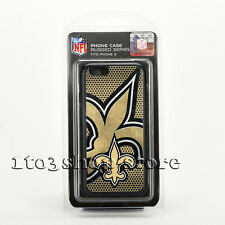 NFL New Orleans Saints Rugged Case Cover for iPhone 6 iPhone 6s (Yellow/Black)