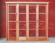 Hardwood Timber 4 Leaf Bi-Folding Doors!!! Made to measure!!! Bespoke!!!