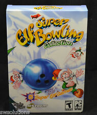 Super Elf Bowling Collection PC Game New in Box by Mumbo Jumbo + Bocce Style!