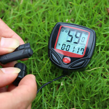 Bike Waterproof Computer Speedometer LCD Bicycle Electronic Wired Cycling