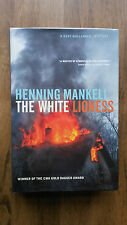 Henning Mankell– The White Lioness (1st/1st US 2003 hb with dw) SIGNED Wallander