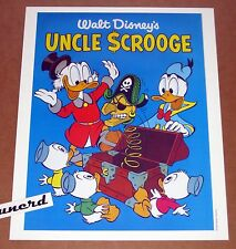 Carl Barks Kunstdruck: Cover zu Uncle Scrooge FCC # 495 - Cover Art Print