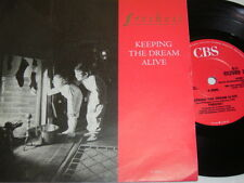 "7"" - Freiheit Keeping the dream alive & Land of fantasy - MINT 1988 # 5100"