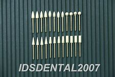 24pc Dental White Finishing Polishing Stone FG Factory Clearance