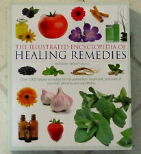 HEALING REMEDIES Illustrated Encyclopedia 496 Pages OVER 1000 Natural SHEALY MD