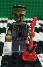 Lego 71010 Minifigures Series 14 MONSTER ROCKER Red Guitar Frankenstein Minifig