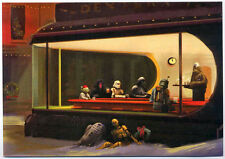 STAR WARS REPRO 2005 . NIGHTHAWKS PASTICHE CHRISTMAS GREETINGS CARD . NOT DVD