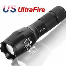 G700 X800 5000LM T6 LED Zoom Flashlight Torch Tactical Zoom Lamp Super Light USA