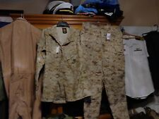 USMC MARPAT Uniform Desert Combat Shirt & Pants in size X LARGE NEW W TAG  XL
