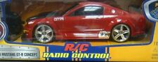 JADA 2005 FORD MUSTANG GT-R CONCEPT R/C RADIO CONTROL 1/16 SCALE RED 84711