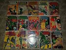 "DC Comics Green Lantern Lot of 15 ""9 - 69"" low to mid grade lot"