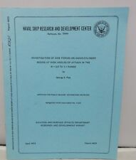Investigation Of Side Forces Ogive Cylinder Bodies High Angles Attack Navy Book