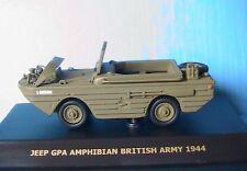 JEEP GPA AMPHIBIAN BRITISH ARMY 1944 MAXI CAR 1/43 MAXICAR DIE CAST MODEL