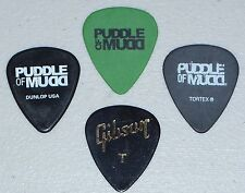 Puddle Of Mudd Guitar Pick Set 4 Gibson Signature Paul Phillips Facebook Monster