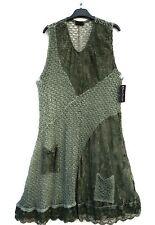 NEU SARAH SANTOS Herbst Strickkleid Kleid Robe Dress M 40 42 Lagenlook Wolle