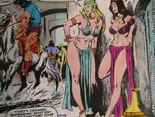 Conan #162  Complete comic Hand inked, 22 pages color proof art John Buscema