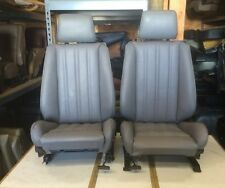 BMW e30 325i 318i 325 New Grey Front Sport Seats For IS & I 1982-92  $1300