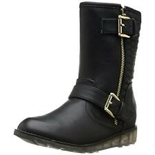 DV Kids 1100 Girls Adeline Black Riding Boots Shoes 13 Medium (B,M) BHFO
