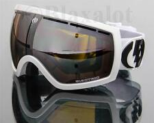 NEW ELECTRIC EG2.5 GOGGLES Gloss White/Bronze-Silver Chrome Mirror Lens Ski Snow